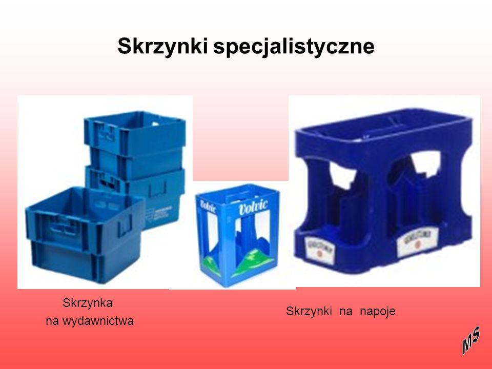 Skrzynki specjalistyczne Skrzynka na wydawnictwa Skrzynki na napoje