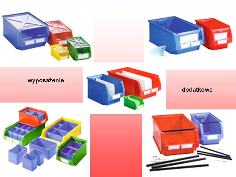 Pojemniki przejezdne – wsuwane Charakteryzują się budową, która po odchyleniu niektórych elementów umożliwia ich wsuwanie jeden w drugi