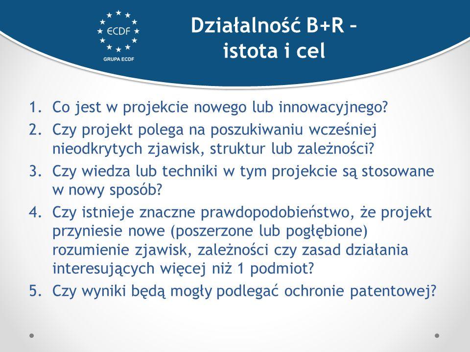 1.Co jest w projekcie nowego lub innowacyjnego.