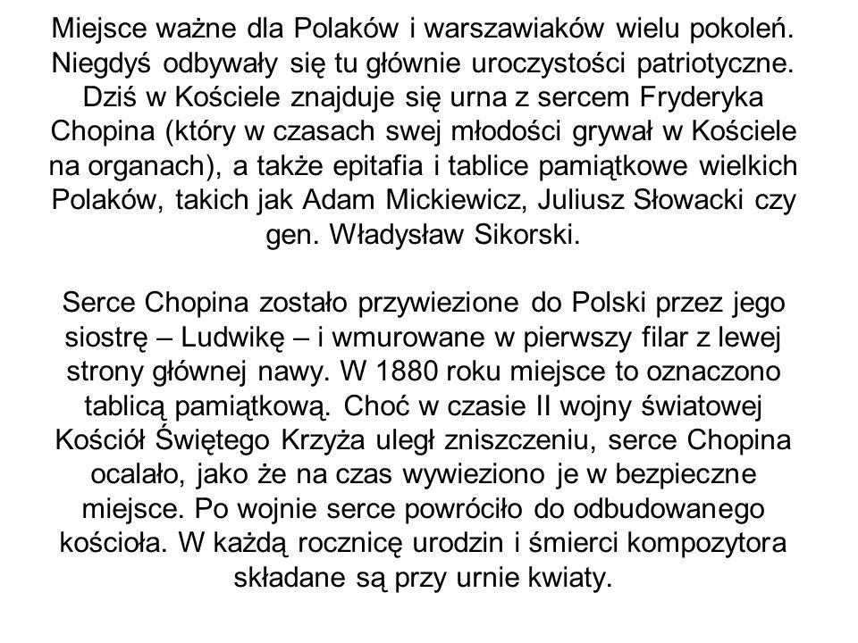 Grób rodziców Chopina na warszawskich Powązkachwarszawskich Powązkach