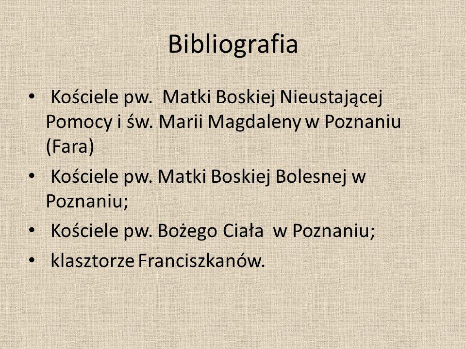 """Bibliografia Wilfried Koch """"Style w architekturze"""" Warszawa 1996 H. W. Janson """" Historia sztuki"""" Zdjęcia zrobiliśmy w: Katedrze Poznańskiej; Kościele"""