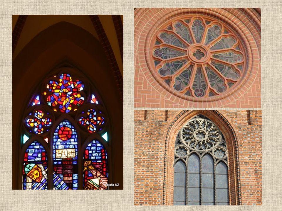 Rozeta Rozeta to rodzaj okna. Jest ona okrągła i znajduje się w zakończeniu okien a także nad portalami. Ma kształt kwiatu o wielu kolorach.