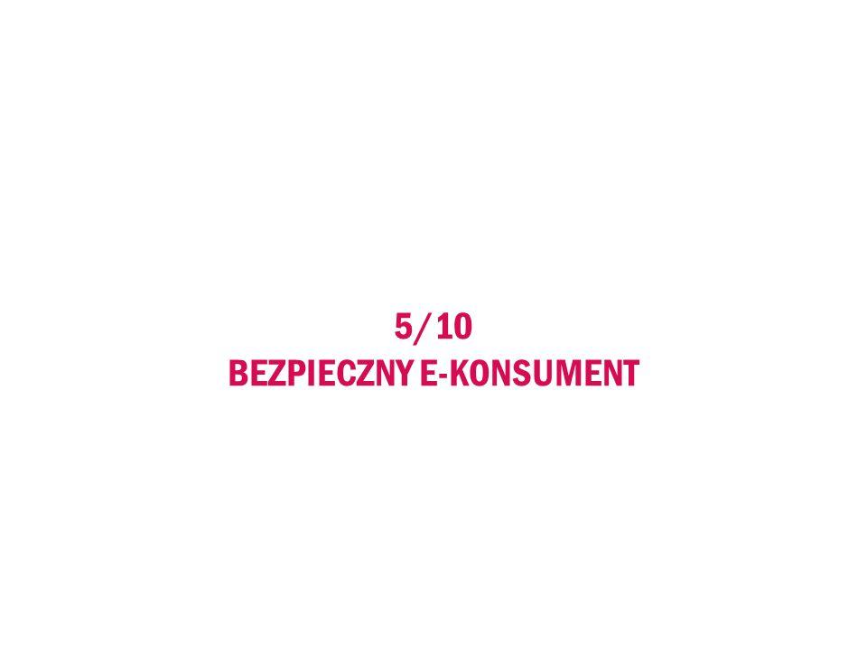 5/10 BEZPIECZNY E-KONSUMENT