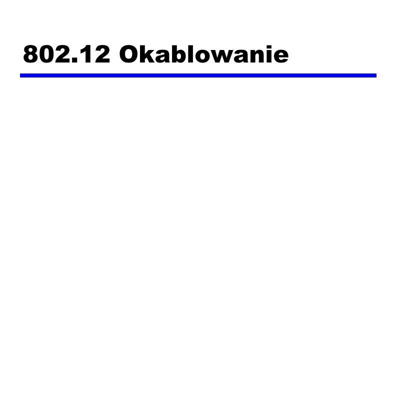 802.12 Okablowanie