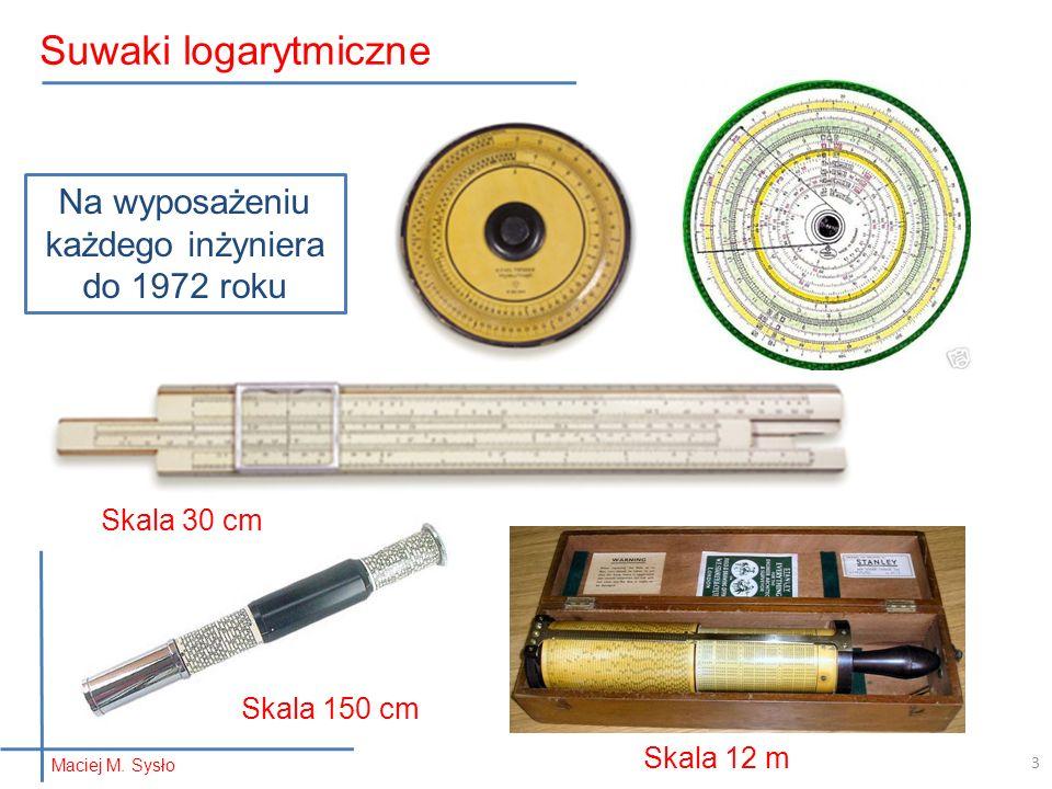 Suwaki logarytmiczne Na wyposażeniu każdego inżyniera do 1972 roku Skala 30 cm Skala 150 cm Skala 12 m 3