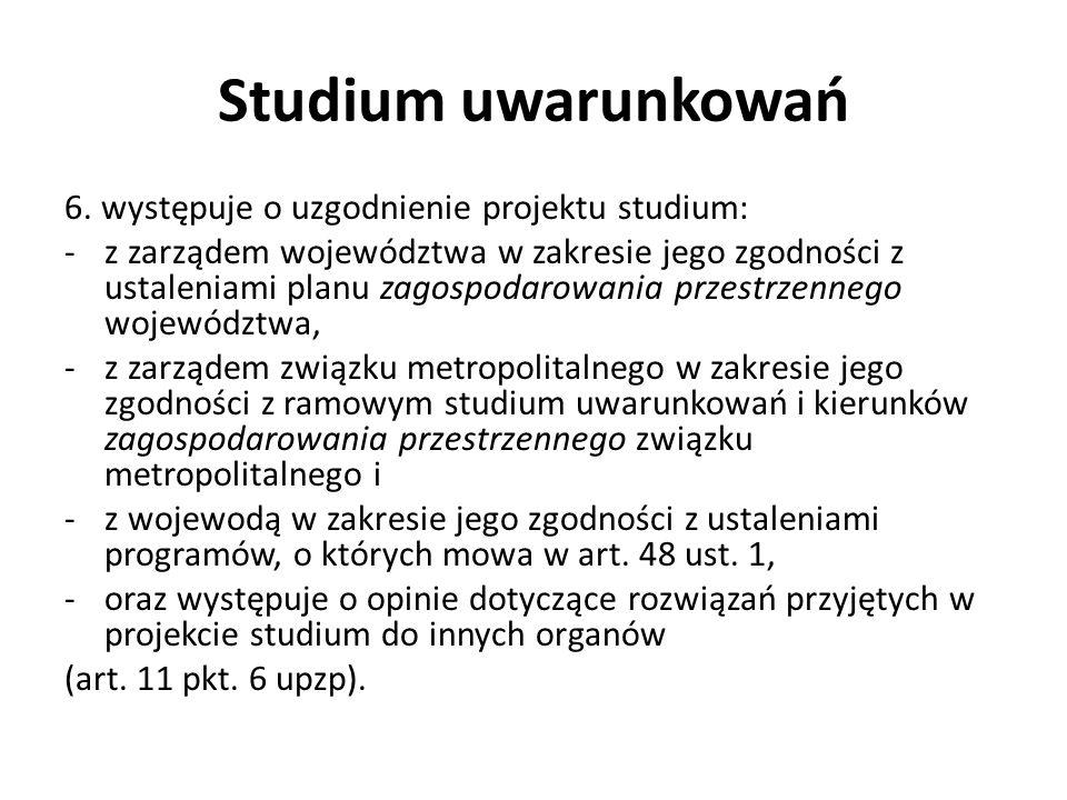 Studium uwarunkowań 6.