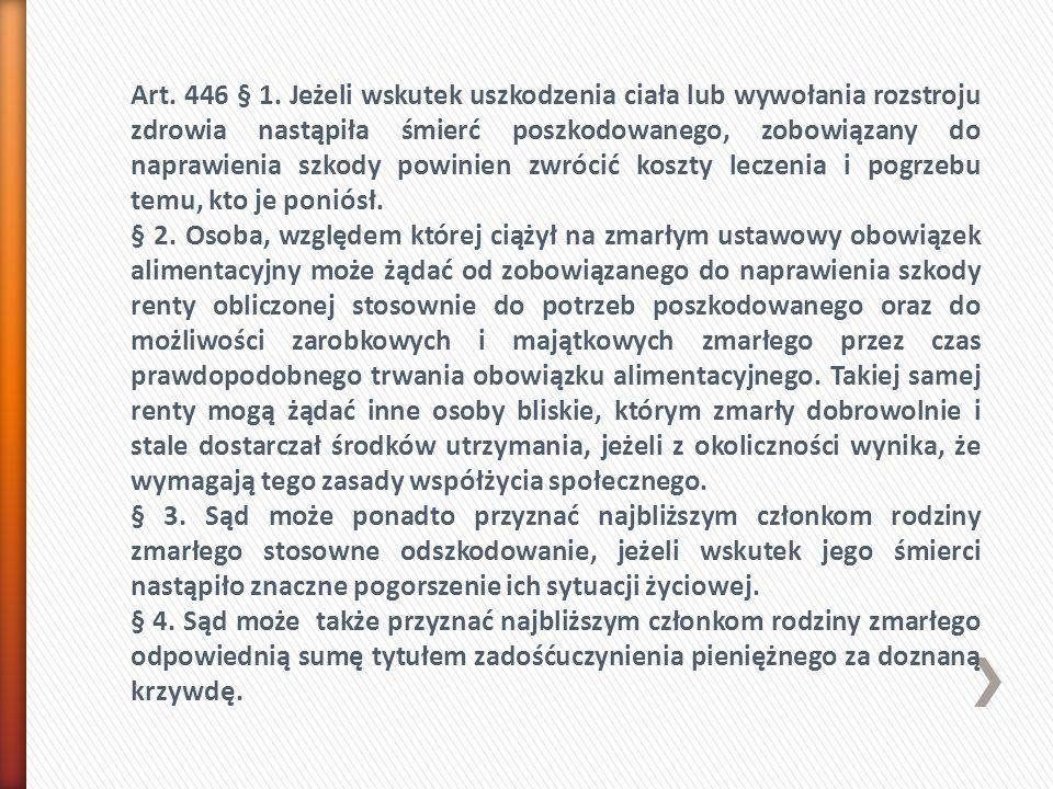 Art. 446 § 1.