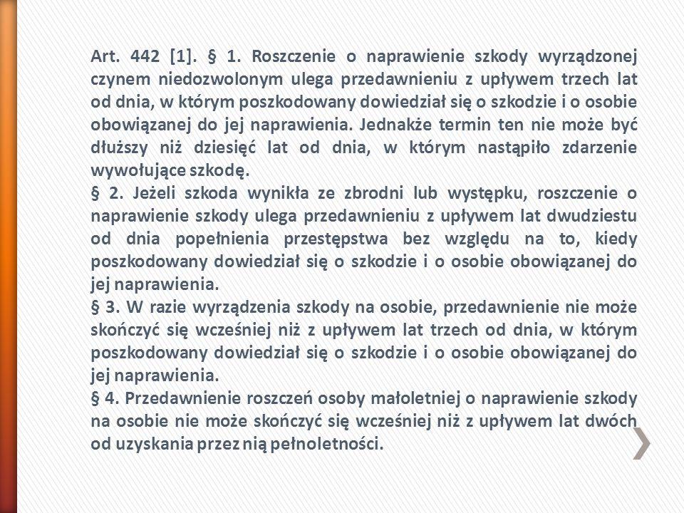 Art. 442 [1]. § 1.