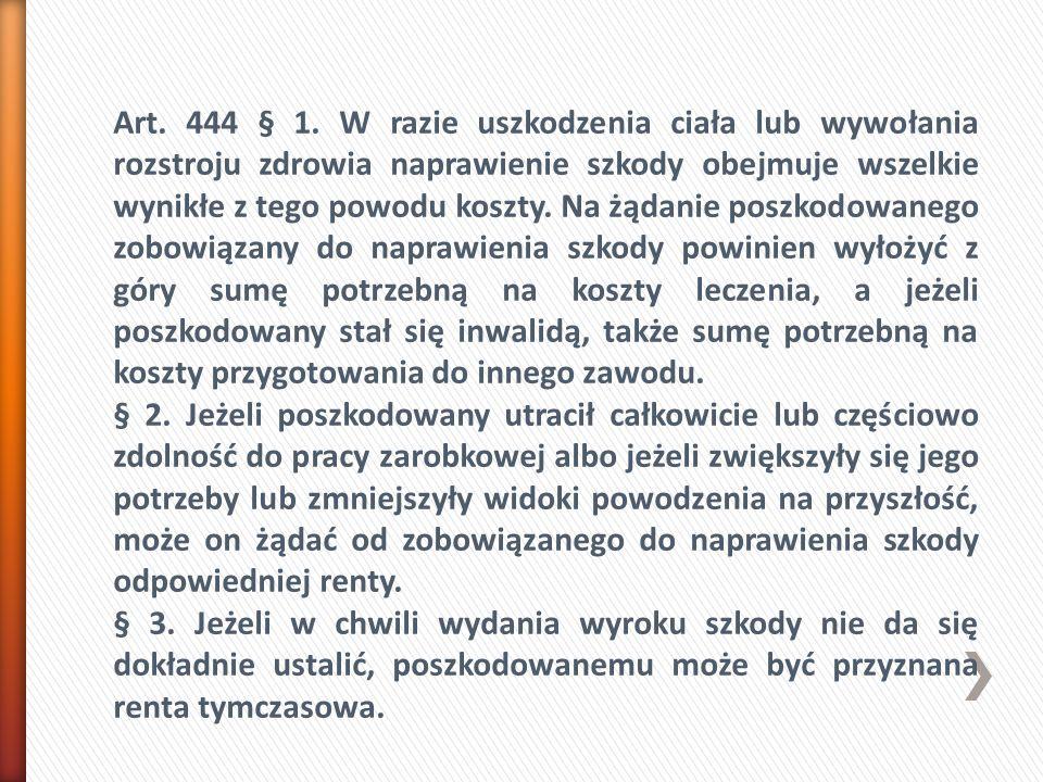 Art. 444 § 1.