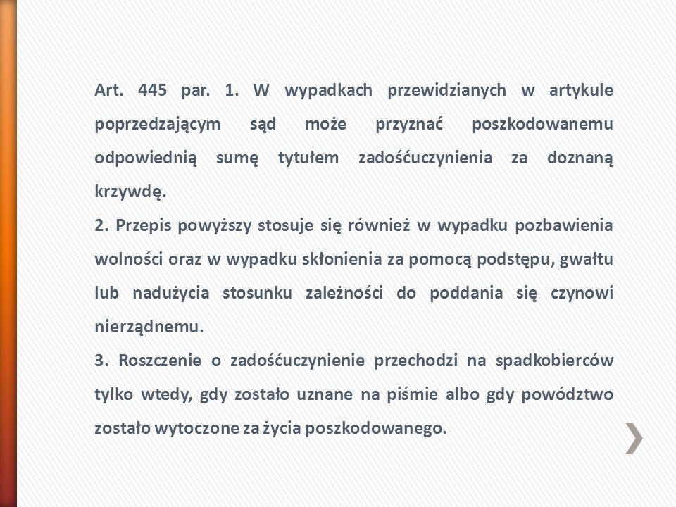 Art. 445 par. 1.