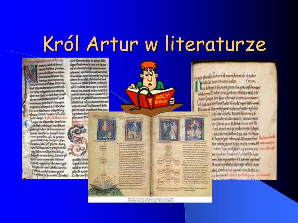 Król Artur w literaturze