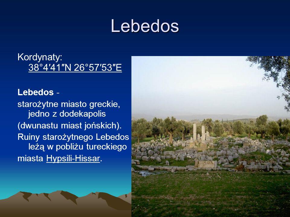 Kolofon Kolofon Kordynaty: 38°06′32″N 27°08′30″E Kolofon, Kolophon - miasto greckie w Jonii położone w głębi lądu nad rzeką Halesos.