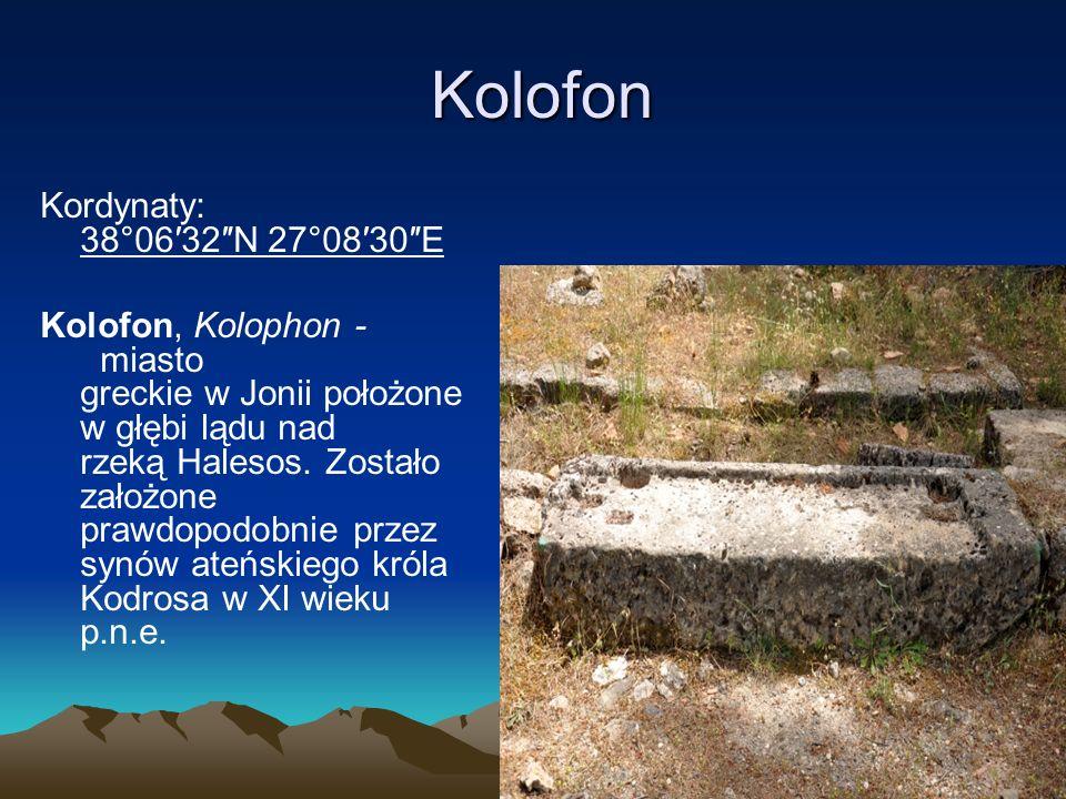 Efez Kordynaty:37°56′28″N 27°20′31″E Efez (gr.