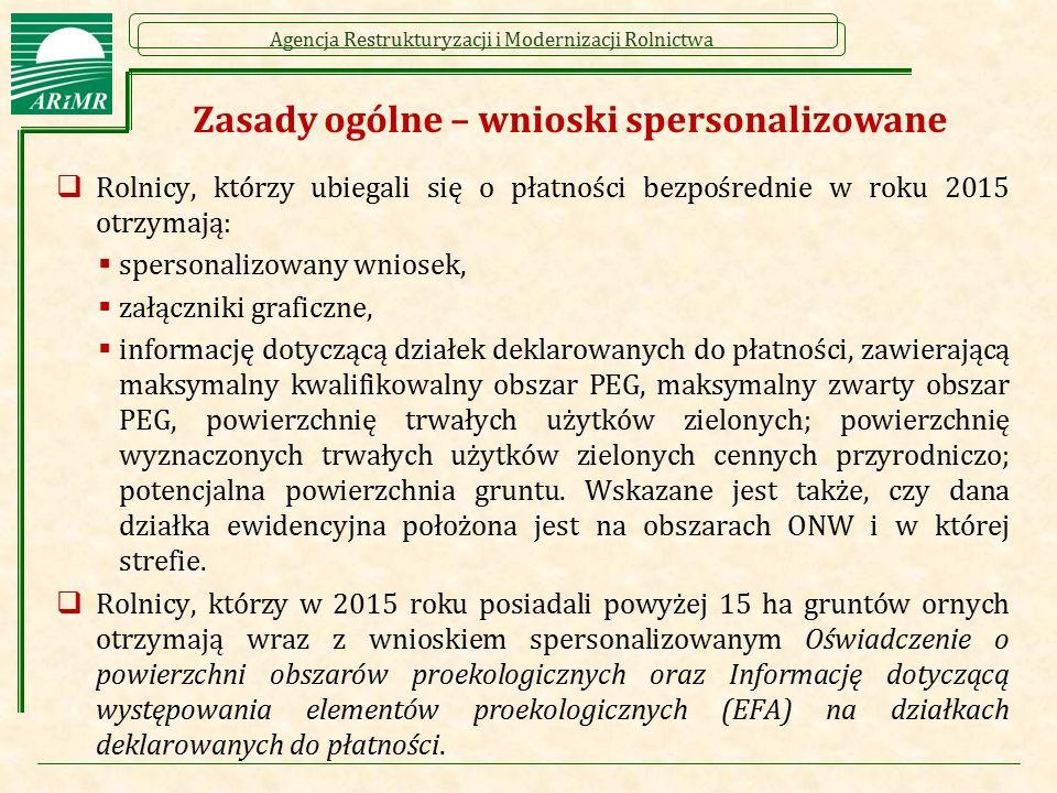 Agencja Restrukturyzacji i Modernizacji Rolnictwa Wypełniony wniosek – str. 3/4 – przykład 1