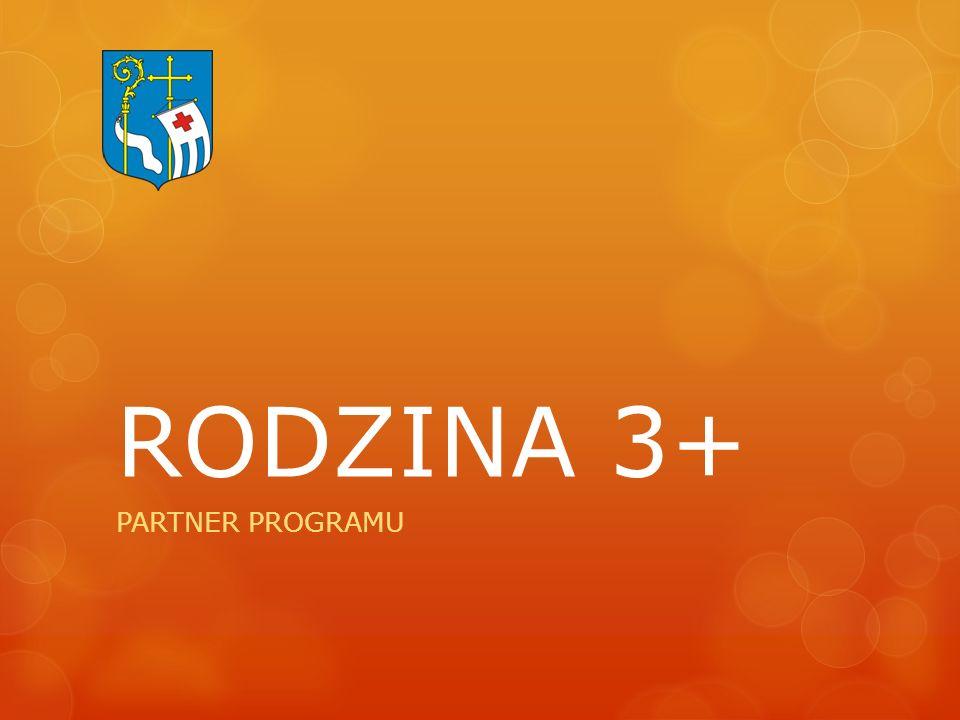RODZINA 3+ PARTNER PROGRAMU
