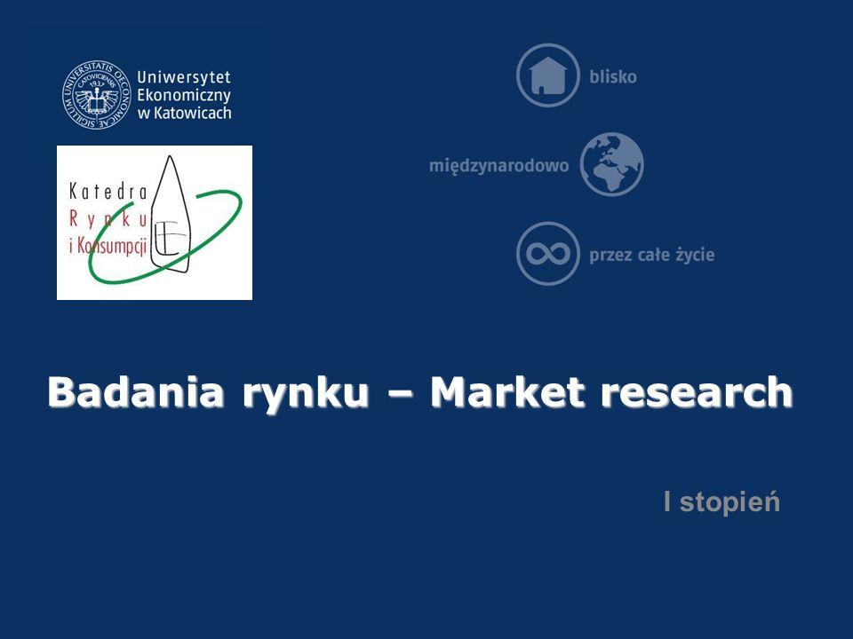 po studiach…  Market intelligence specialist;  Analityk rynku;  Specjalista ds.