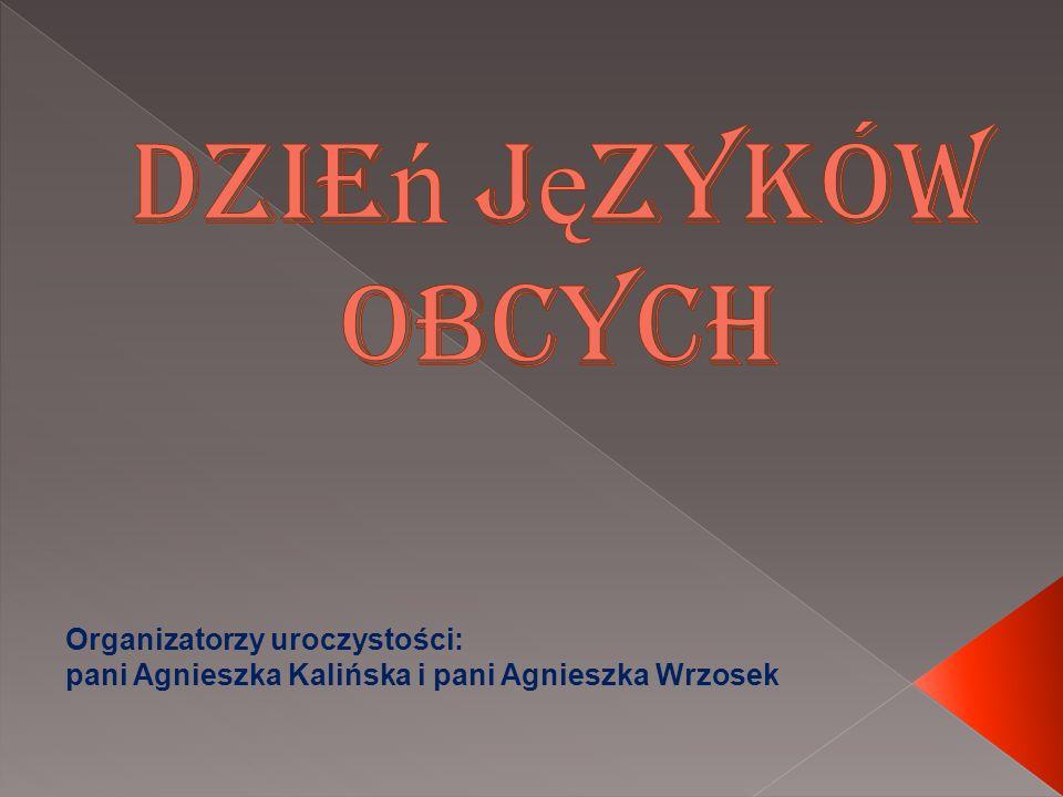 Organizatorzy uroczystości: pani Agnieszka Kalińska i pani Agnieszka Wrzosek