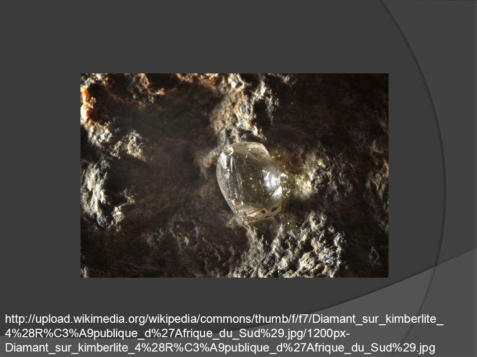 http://upload.wikimedia.org/wikipedia/commons/thumb/f/f7/Diamant_sur_kimberlite_ 4%28R%C3%A9publique_d%27Afrique_du_Sud%29.jpg/1200px- Diamant_sur_kim