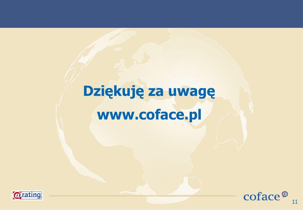 11 Dziękuję za uwagę www.coface.pl
