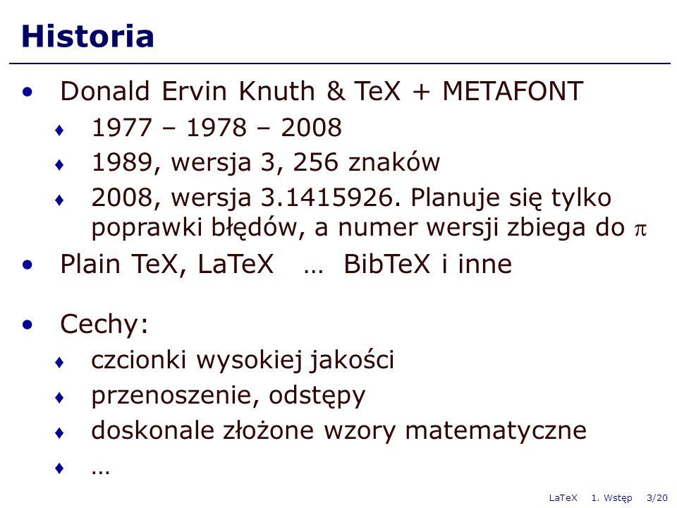 LaTeX 1.