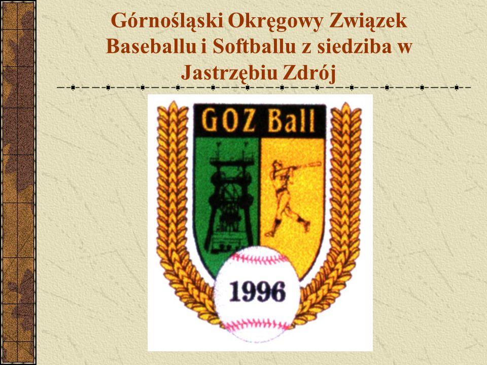 Górnośląski Okręgowy Związek Baseballu i Softballu z siedziba w Jastrzębiu Zdrój