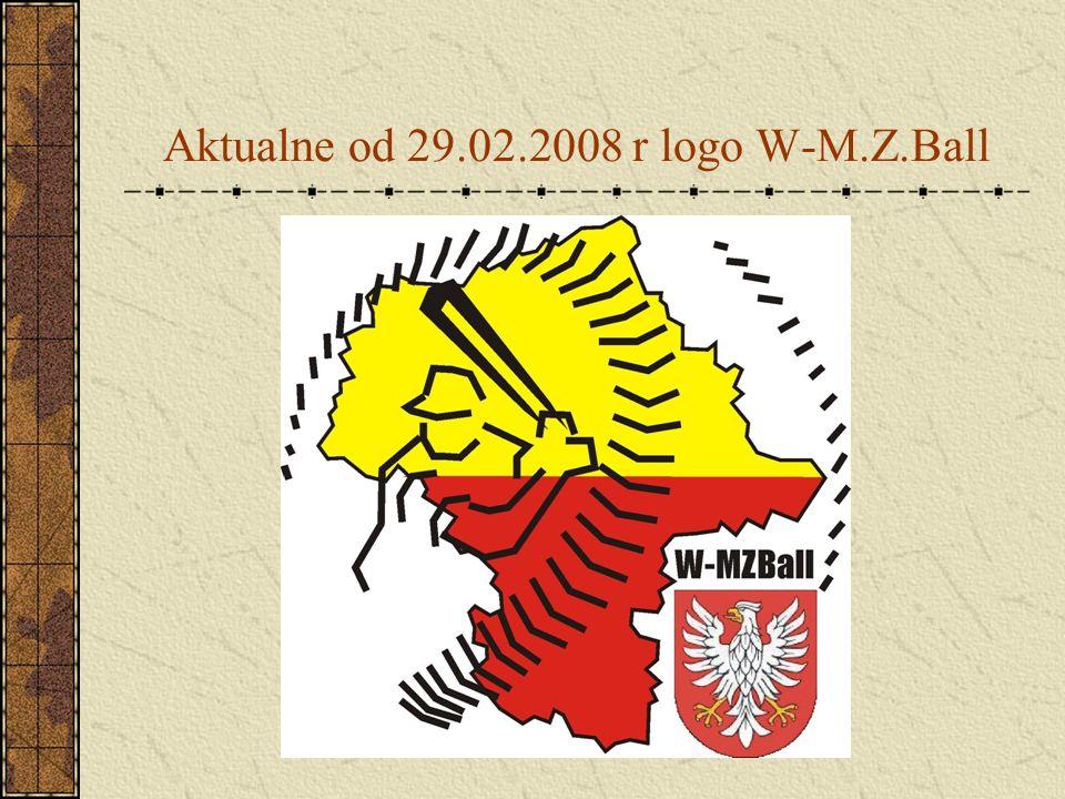 Aktualne od 29.02.2008 r logo W-M.Z.Ball