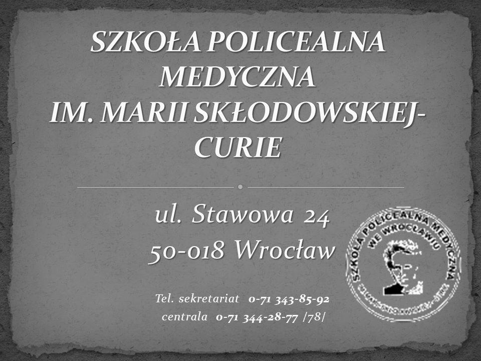 ul. Stawowa 24 50-018 Wrocław Tel. sekretariat 0-71 343-85-92 centrala 0-71 344-28-77 /78/