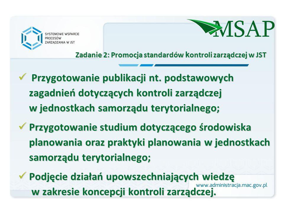 Przygotowanie publikacji nt.