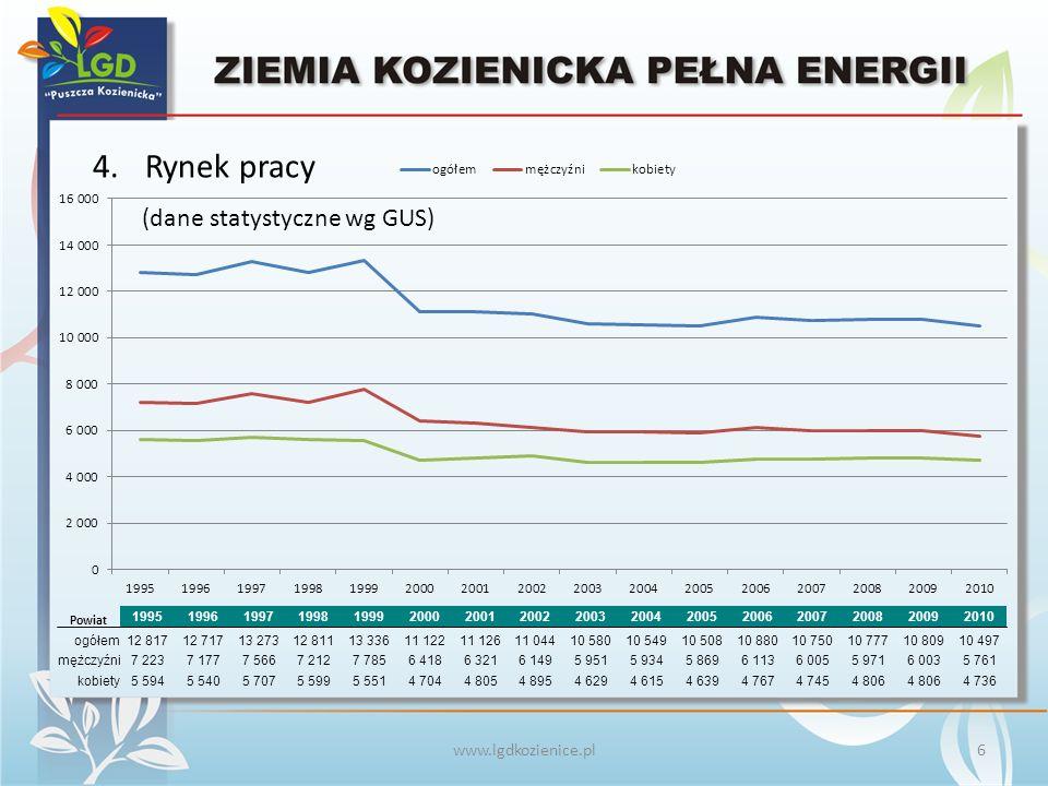 www.lgdkozienice.pl Dobry przykład działań prorozwojowych - Puławy.