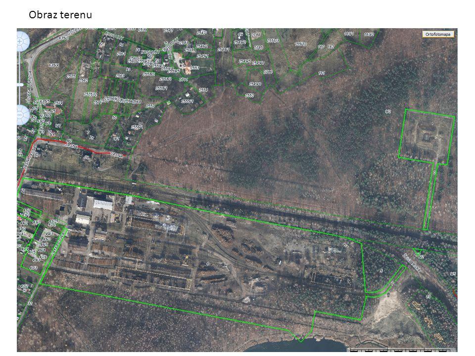 Obraz działki Obraz terenu