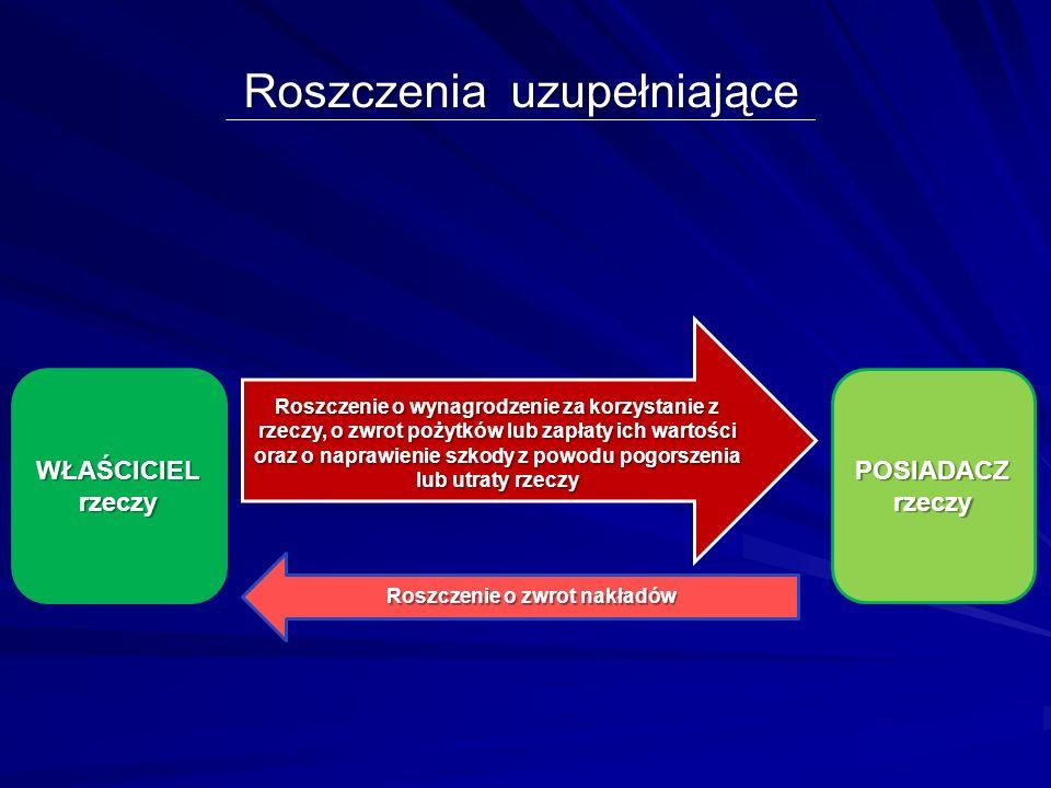 Zakres odpowiedzialności samoistnego posiadacza Art. 224, art. 225, art. 228 kc