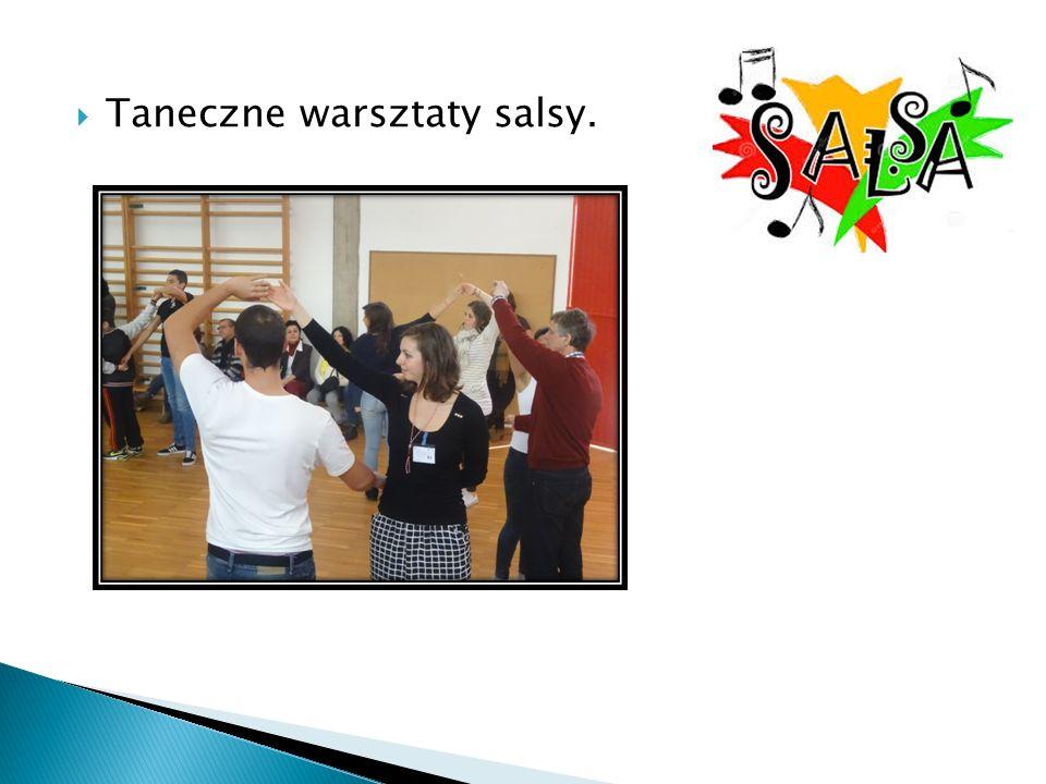  Taneczne warsztaty salsy.