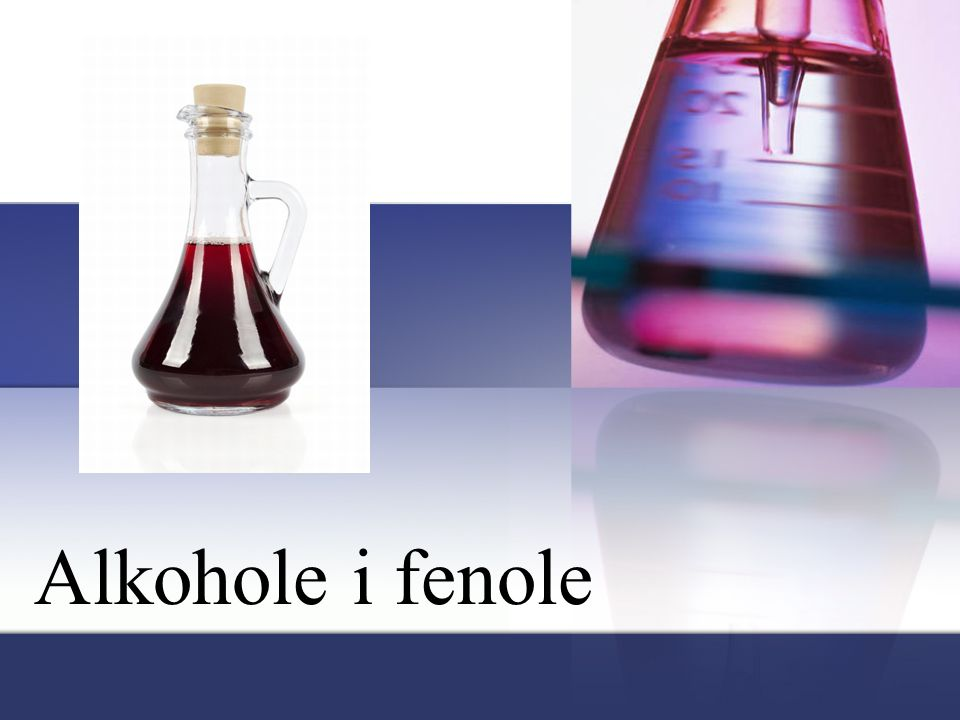 Alkohole i fenole