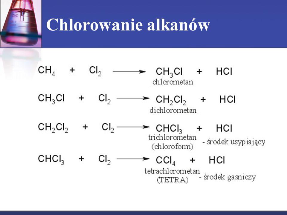 Chlorowanie alkanów