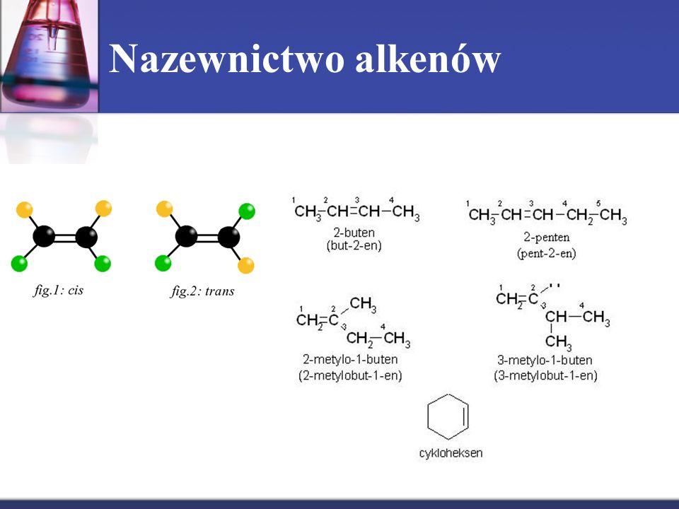 Nazewnictwo alkenów