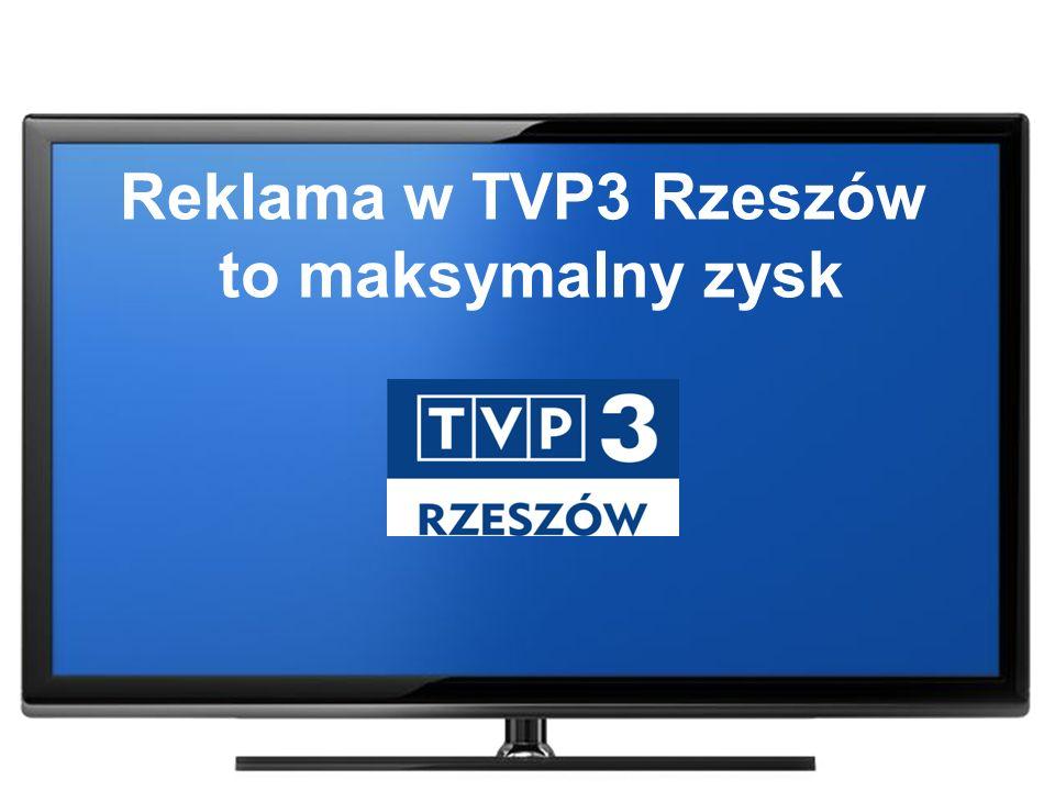 Widownia AMR TVP3 Rzeszów w dniu 17 grudnia 2015 roku Pasmo 18:30 – 19:00 Źródło: Nielsen Audience Measurement TVP3 Rzeszów wśród najchętniej oglądanych stacji telewizyjnych