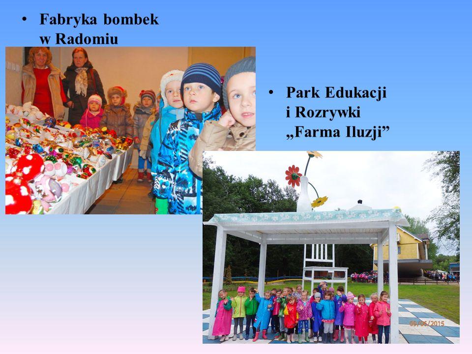 """Fabryka bombek w Radomiu Park Edukacji i Rozrywki """"Farma Iluzji"""