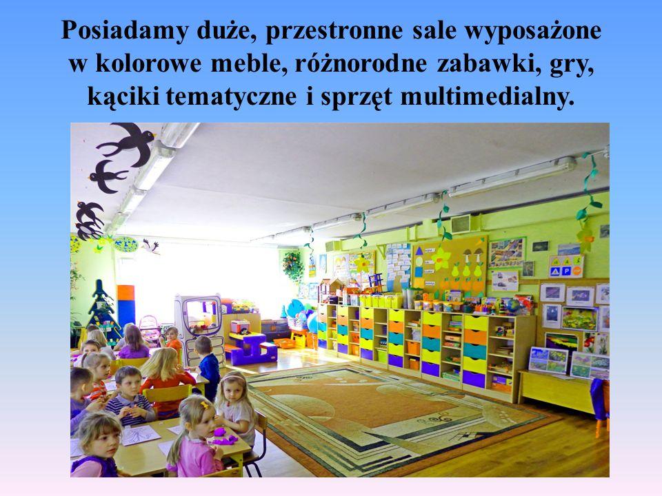 Posiadamy wykwalifikowaną kadrę pedagogiczną, która w swojej pracy wykorzystuje nowatorskie metody i formy pracy.