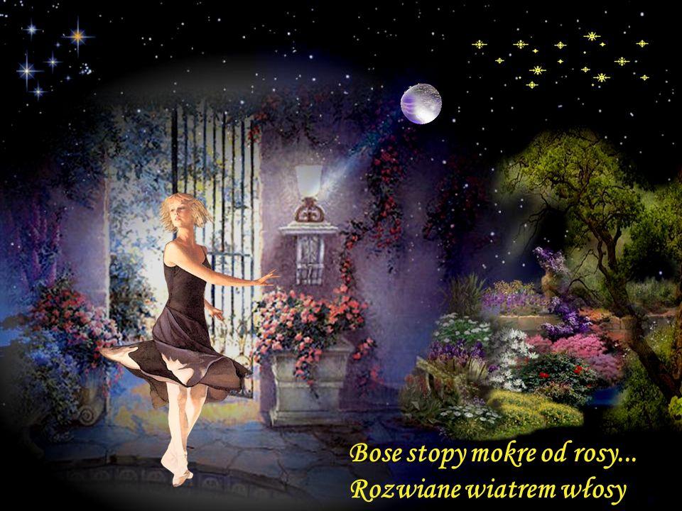 Księżyc z zazdrością patrzył... podszedł... stał się mym tańca partnerem..