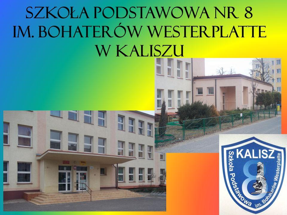 Szkoła Podstawowa nr 8 im. Bohaterów Westerplatte w Kaliszu