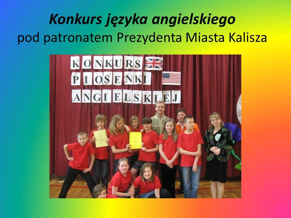Konkurs języka angielskiego pod patronatem Prezydenta Miasta Kalisza
