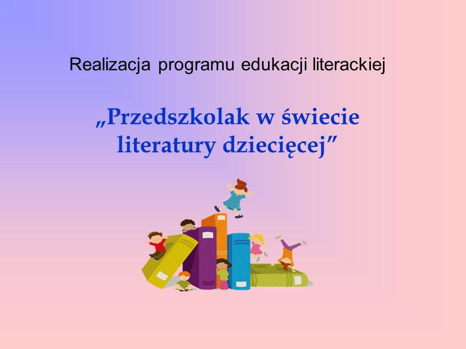 W roku szkolnym 2014 / 2015 w Miejskim Przedszkolu z Oddziałami Integracyjnymi nr 14 w Oświęcimiu po raz pierwszy realizowany był program edukacji literackiej pt.