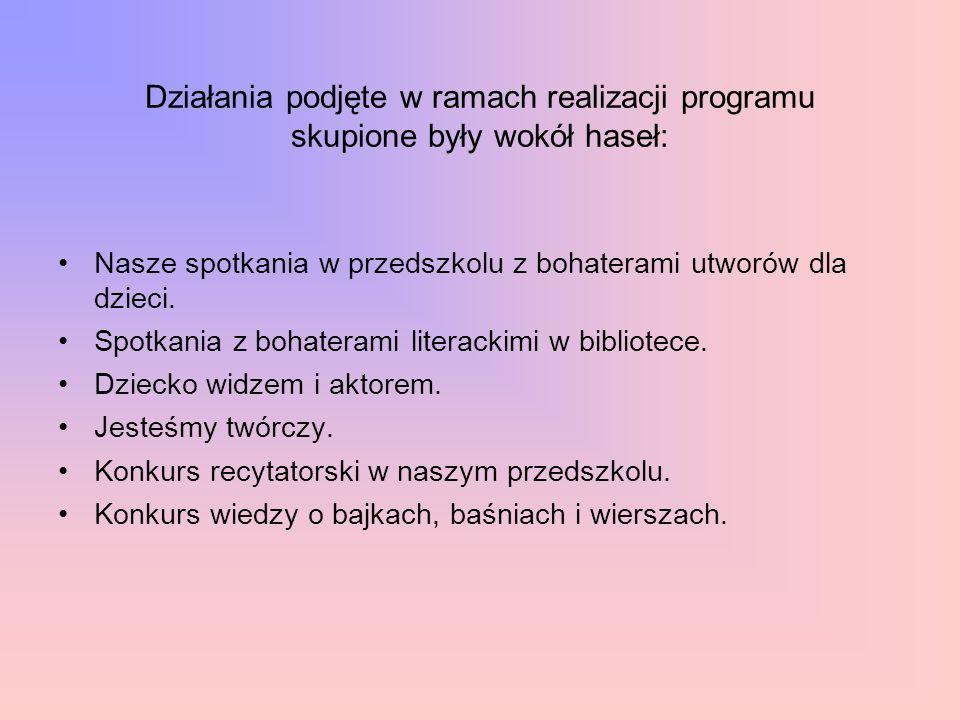 """Akcja """"Cała Polska czyta Dzieciom 2015 Celem Akcji jest propagowanie codziennego czytania dzieciom jako skutecznej metody wspomagania ich wszechstronnego rozwoju."""