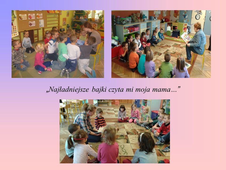 Codzienne czytanie dzieciom bajek, opowiadań, baśni, wierszy, przeprowadzenie cyklu zajęć z zakresu edukacji społeczno-moralnej dzieci, udział w porankach czytelniczych z rodzicami: dały możliwość dzieciom swobodnego wyrażenia swoich myśli, stanów emocjonalnych, w związku z wysłuchanym tekstem, określania wartości uniwersalnych na zasadzie przeciwieństw, np..