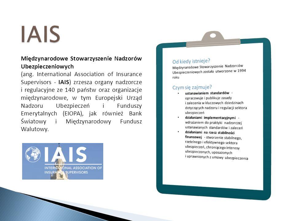Międzynarodowe Stowarzyszenie Nadzorów Ubezpieczeniowych (ang.