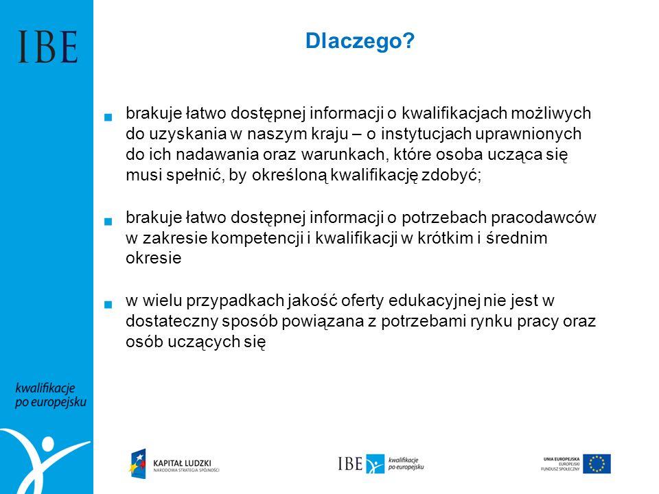 PRK jest wspólnym układem odniesienia dla kwalifikacji nadawanych w Polsce Poziomy PRK odniesione są do poziomów Europejskiej Ramy Kwalifikacji Oryginalnym polskim rozwiązaniem jest wyodrębnienie w PRK dwóch rodzajów charakterystyk, które różnią się szczegółowością opisu i dziedziną do której się odnoszą.