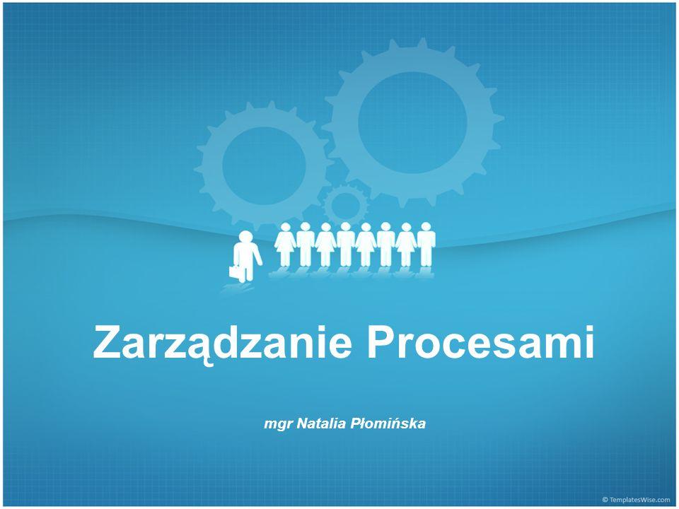1.Sporządź listę procesów (5)  Określ skalę, przy pomocy której będziesz oceniał procesy  Np.