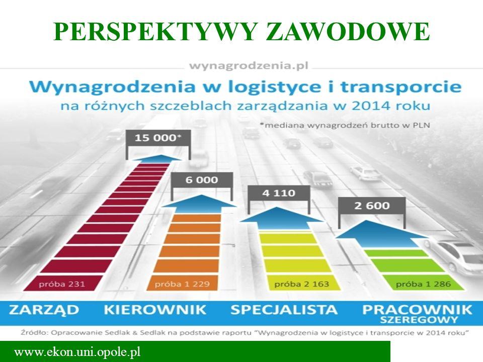 PERSPEKTYWY ZAWODOWE www.ekon.uni.opole.pl