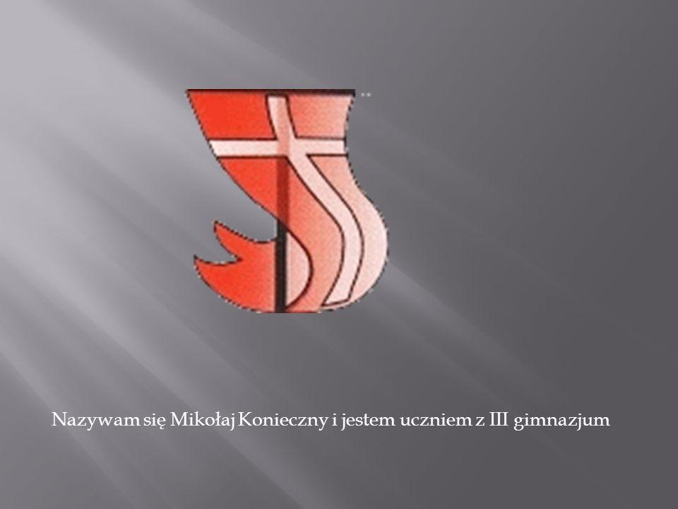 Nazywam się Mikołaj Konieczny i jestem uczniem z III gimnazjum