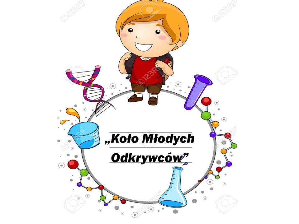 """Program """" Koła Młodych Odkrywców został stworzony z myślą o małych poszukiwaczach naukowych przygód."""